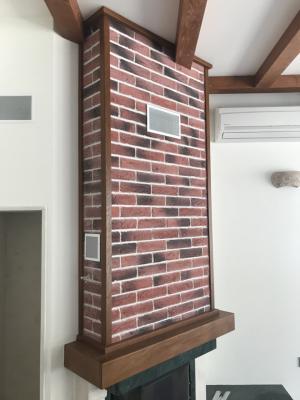 Изграждане и оформяне кът камина